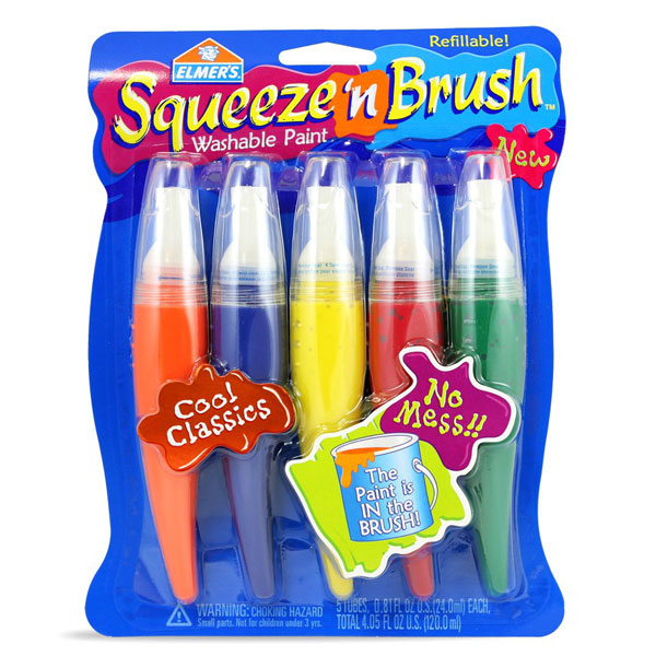 Elmers Squeeze N Brush